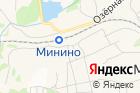 Продуктовый магазин наВокзальной 1а на карте