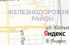 Иzюм на карте