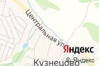 Продуктовый магазин наАэродроме Кузнецово на карте