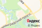 Сибирский городок на карте