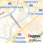 SAINT PETERSBURG CITY MAP на карте