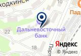 «Дальневосточный банк, ПАО» на Яндекс карте
