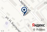 «ДОСААФ» на Яндекс карте