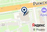 «Газпром межрегионгаз Псков» на Yandex карте