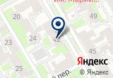 «Ювиталь-проект» на Яндекс карте Санкт-Петербурга