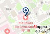 «Детская скорая медицинская помощь» на Яндекс карте Санкт-Петербурга