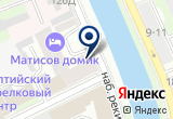 «Матисов домик» на Яндекс карте Санкт-Петербурга