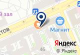 «Тренд» на Яндекс карте Санкт-Петербурга