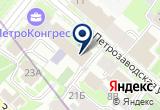 «Ювелирная Россия» на Яндекс карте Санкт-Петербурга