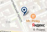 «МедЭкспресс+» на Яндекс карте Санкт-Петербурга