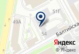 «ЭЛИТА-ТСБ» на Яндекс карте Санкт-Петербурга