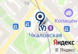 «Станция Чкаловская» на Яндекс карте Санкт-Петербурга