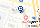 «Балтийский шкаф» на Яндекс карте Санкт-Петербурга