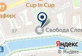«Перова Е. В.» на Яндекс карте Санкт-Петербурга