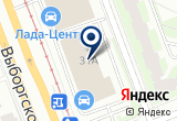 «Шувалово-Моторс» на Яндекс карте Санкт-Петербурга