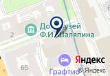 «Парфенон» на Яндекс карте Санкт-Петербурга