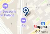 «W St.Petersburg» на Яндекс карте Санкт-Петербурга