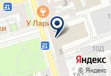 «Экос» на Яндекс карте Санкт-Петербурга