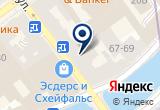 «Вива-Тур» на Яндекс карте Санкт-Петербурга