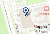 «Удельный, потребительский гаражный кооператив» на Яндекс карте Санкт-Петербурга