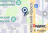 "«ООО ""Мониторинг""» на Яндекс карте Санкт-Петербурга"