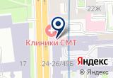 """«""""Современные Технологические Линии""""» на Яндекс карте Санкт-Петербурга"""