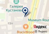 «Шеф-повар» на Яндекс карте Санкт-Петербурга