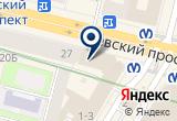 «ЛСР-Базовые, торговая компания» на Яндекс карте Санкт-Петербурга