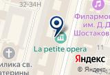 «УГОЛОК ФРАНЦИИ» на Яндекс карте Санкт-Петербурга