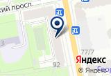 «XENON78» на Яндекс карте Санкт-Петербурга