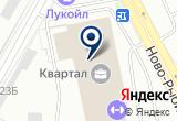 «Витражное Дело» на Яндекс карте Санкт-Петербурга