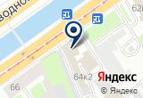«Фротелли» на Яндекс карте Санкт-Петербурга