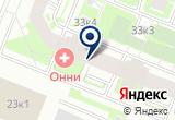 "«Центр паровых коктейлей ""Фараон""» на Яндекс карте Санкт-Петербурга"