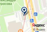 «Фаерлэнд» на Яндекс карте Санкт-Петербурга