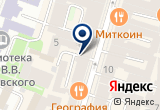 «ПРОГРЕССИВ-ПРОЕКТ» на Яндекс карте Санкт-Петербурга
