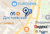«Renaissance Hall» на Яндекс карте Санкт-Петербурга