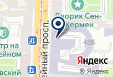 «ТРАНСАЭРО, ОАО, авиакомпания» на Яндекс карте Санкт-Петербурга