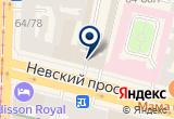 «ЛАДА, ООО» на Яндекс карте Санкт-Петербурга