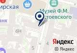 «Отель ЛЕБЁДУШКА, ООО» на Яндекс карте Санкт-Петербурга