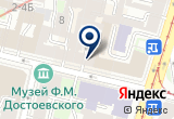 «Элизия» на Яндекс карте Санкт-Петербурга