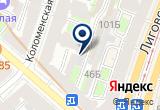 «Медиа проект» на Яндекс карте Санкт-Петербурга