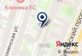 «Мастер Виниловый» на Яндекс карте Санкт-Петербурга