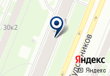 «Чеснок» на Яндекс карте Санкт-Петербурга