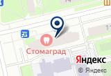 «Nightled» на Яндекс карте Санкт-Петербурга