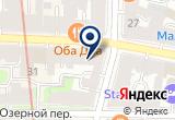 «СОЛДАТ УДАЧИ» на Яндекс карте Санкт-Петербурга