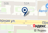«Шпалерная 52» на Яндекс карте Санкт-Петербурга