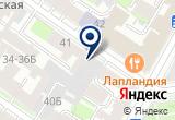 «Крисберг» на Яндекс карте Санкт-Петербурга