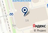 «AZ, оптово-торговая компания, филиал в г. Санкт-Петербурге» на Яндекс карте Санкт-Петербурга