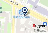 «Комбат, охранная организация» на Яндекс карте Санкт-Петербурга