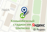 «Открытый конькобежный стадион с искусственным льдом» на Яндекс карте Санкт-Петербурга